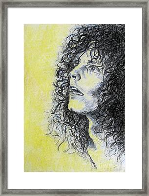 Portrait 8 Framed Print