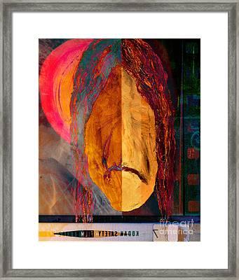 Portrait Of A Man 2 Framed Print by Emilio Lovisa