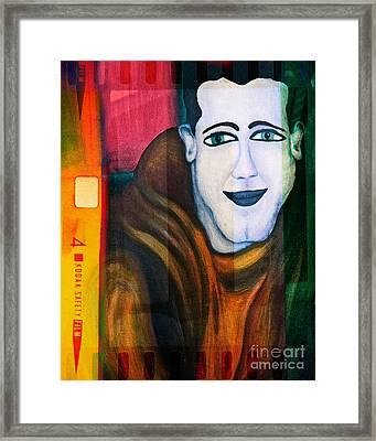 Portrait Of A Man 3 Framed Print by Emilio Lovisa