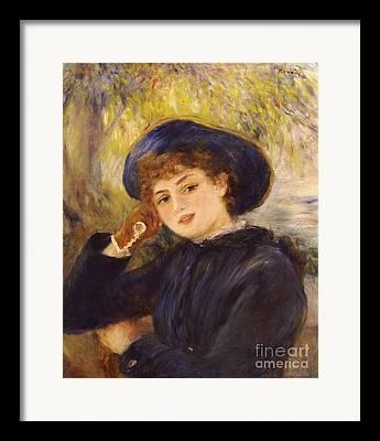 Trim Hat Paintings Framed Prints