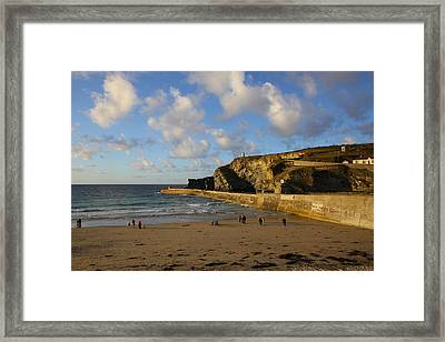 Portreath Beach Framed Print