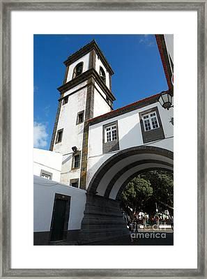 Portuguese Architecture Framed Print by Gaspar Avila