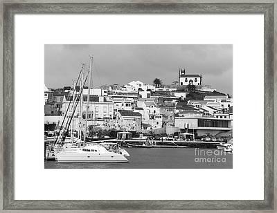 Portuguese City Framed Print by Gaspar Avila