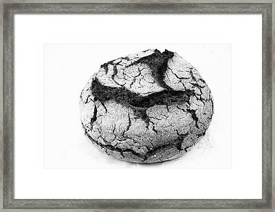 Portuguese Corn Bread Framed Print