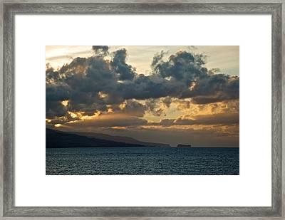 Portuguese Sunrise Framed Print by Eric Tressler