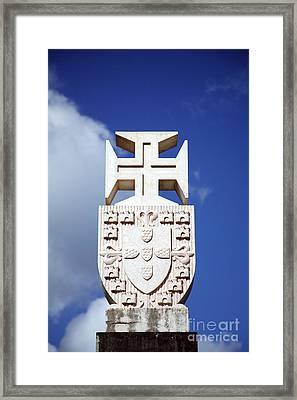 Portuguese Symbology Framed Print by Gaspar Avila