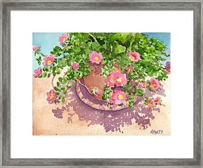 Portulacas Framed Print