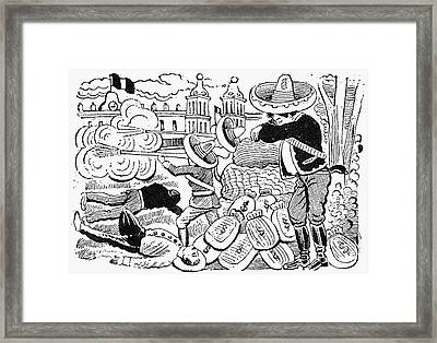 Posada: Attack, 1910-12 Framed Print by Granger