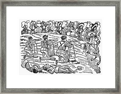 Posada: Battle, 1910-12 Framed Print by Granger