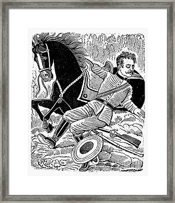 Posada: Dead Revolutionary Framed Print by Granger
