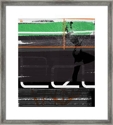 Pose Framed Print by Naxart Studio