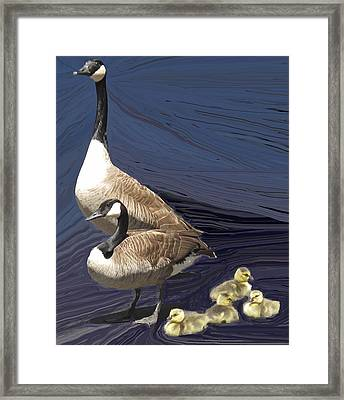 Posed Family Portrait Framed Print by Ian  MacDonald