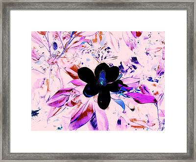 Positive Space Framed Print by Aimee Bruno