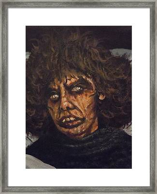 Framed Print featuring the painting Possessed Wife by James Guentner