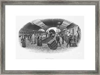 Postal Service, C1870 Framed Print