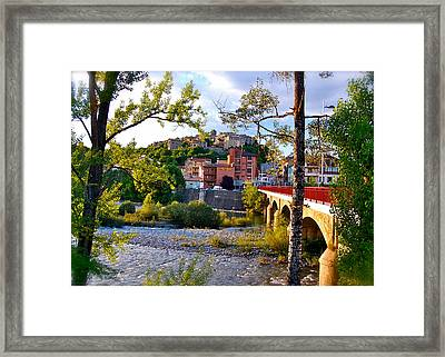 Postcard Perfect Framed Print by HweeYen Ong