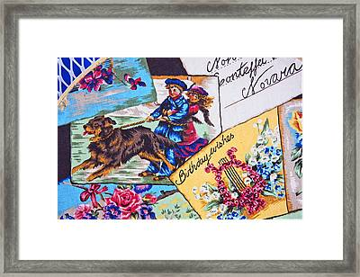 Postcards On A Sunday Afternoon Framed Print by Chet King