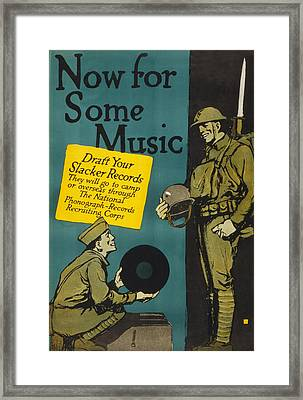 Poster By Charles Buckles, Showing Framed Print by Everett