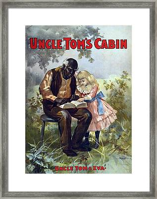Poster For An 1899  Theatrical Framed Print by Everett