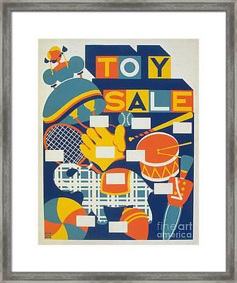 Poster: Toys, C1940 Framed Print by Granger