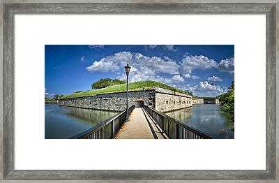 Postern Gate Bridge Framed Print