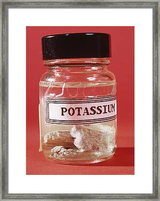 Potassium Framed Print by Andrew Lambert Photography