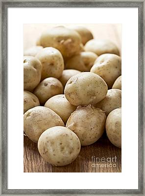Potatoes Framed Print by Elena Elisseeva