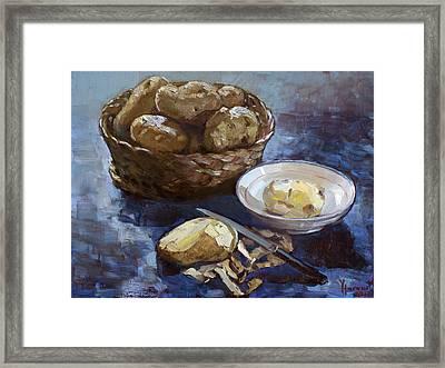 Potatoes Framed Print