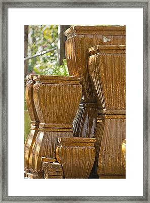 Pots Of Gold 2 Framed Print by Teresa Mucha