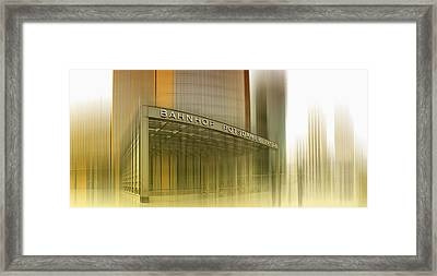 Potsdamer Platz Berlin I Framed Print by Melanie Viola