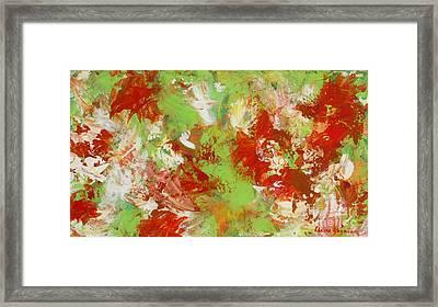 Potted Flowers Framed Print