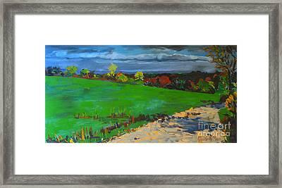 Potter Hill Meadows Framed Print