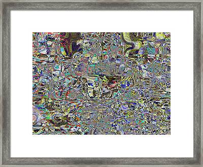 Potter In Abstract Hundertwasser Style Framed Print by James Stanfield