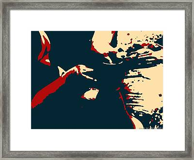 Potter In Illustration Hope Style Framed Print by James Stanfield