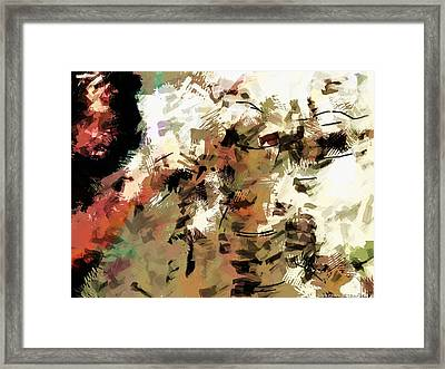 Potter In Sketchy Marker Style Framed Print by James Stanfield