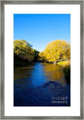 Poudre River Framed Print by Dana Kern