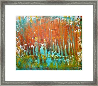 Pour One Framed Print