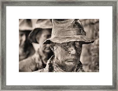Poverty II Bw Framed Print