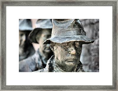 Poverty II Framed Print by JC Findley