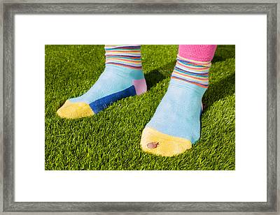 Poverty Framed Print by Semmick Photo