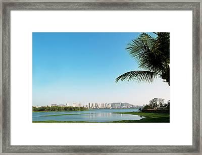 Powai - Suburb Of Mumbai Framed Print by Ixefra