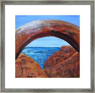 Powell Dream Framed Print