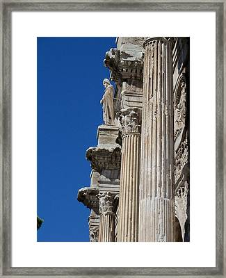 Power And Strength Through The Ages Framed Print