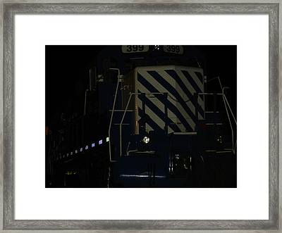 Power At Rest Framed Print by Dennis Leatherman