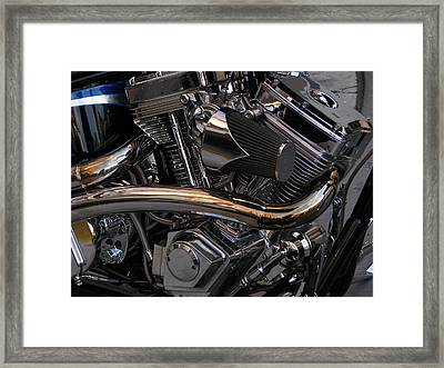 Power At Rest Framed Print by Samuel Sheats