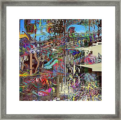 Power Framed Print by Dave Kwinter