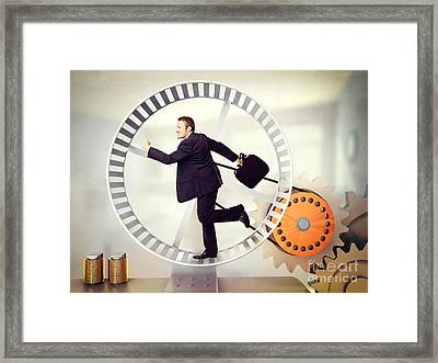 Power Generator Framed Print by Gualtiero Boffi