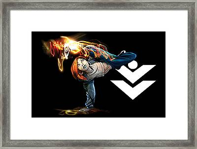 Power Moves Framed Print by Jay Reed