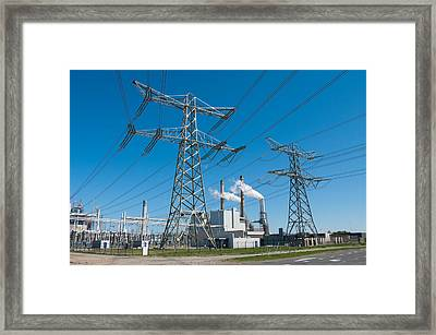 Power Plant  Framed Print by Hans Engbers