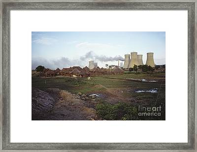 Power Plant, India Framed Print by Bernard Wolff